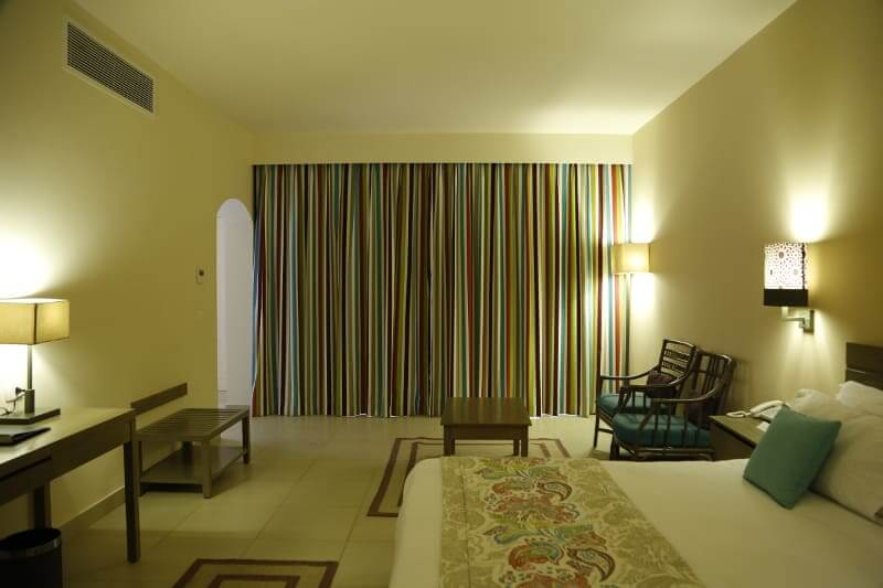 Governor Suite Bed room At Byoum Lakeside Hotel In Al Fyoum