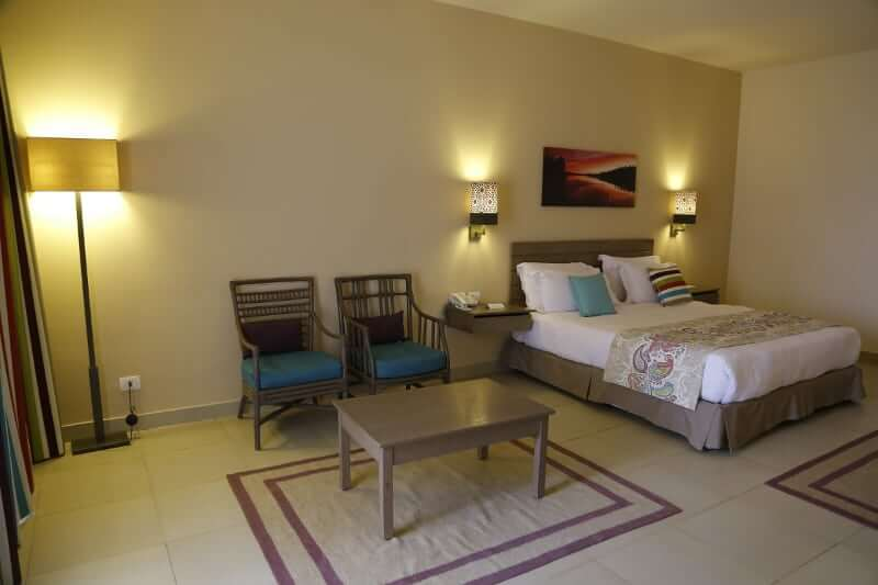 Family Suite Bed at Byoum Lakeside Hotel In Al Fayoum